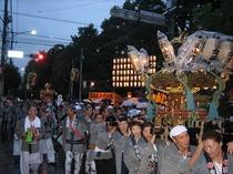 ときわ台天祖神社東山町神輿半纏(半纏)