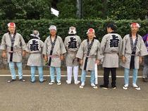 ふじみ野市大井氷川神社上組囃子保存会(半纏)