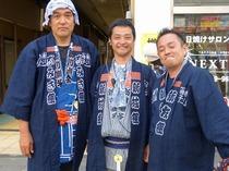 土浦新川囃子連合組長(半纏)