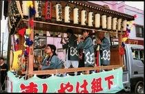 下之宮氷川神社「下組囃子連」(半纏)