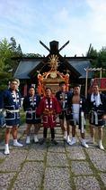 足立区島根の鷲神社(詠廣建設の半纏)
