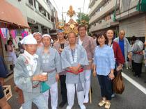 中村八幡神社例大祭(半纏)