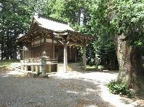 毛呂山町の星宮神社(のぼり)
