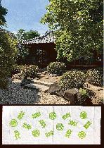 川越市 丹徳庭園(手拭い)